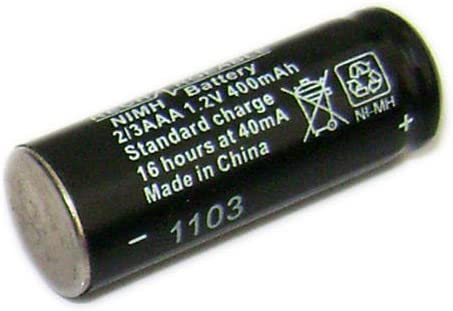 50 x x1 / x1iコードレス電話バッテリー2 / 3aaa 1.2 V 400 mAh 1030 mm