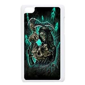 Wholesale Cheap Phone Case FOR IPod Touch 4th -Santa Muerte-Grim Reaper-LingYan Store Case 14