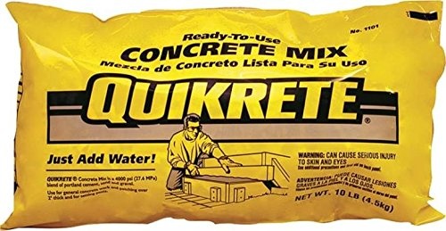 QUIKRETE Products : QUIKRETE 110110 Concrete Mix 10LB