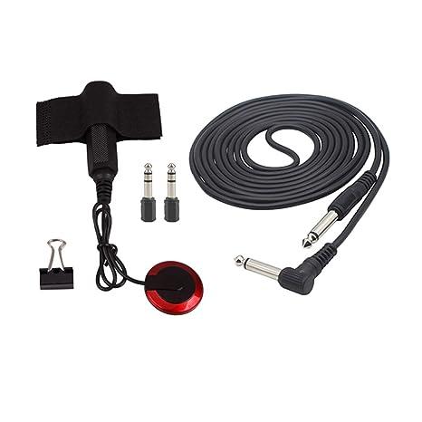 SUPVOX 5pcs Accesorios para guitarra Convertidores de cable de 3 m ...
