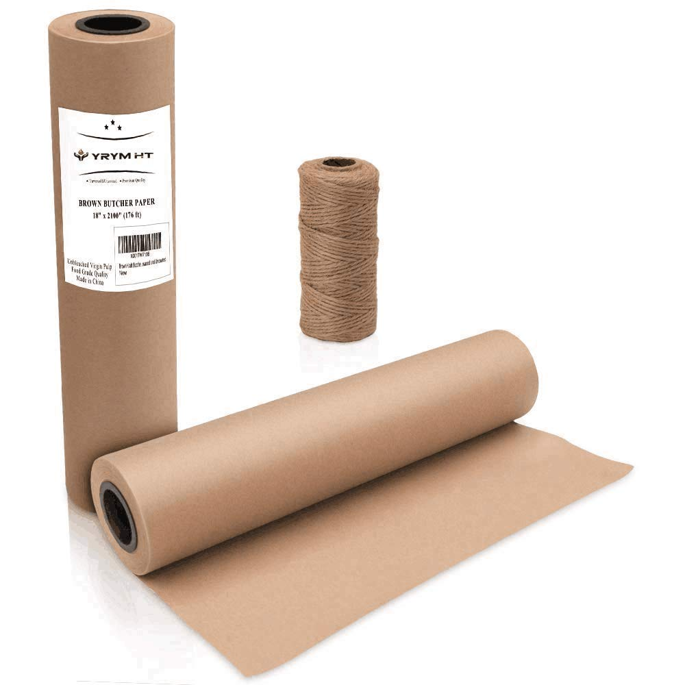 Amazon com: Brown Kraft Butcher Paper Roll - Natural Food