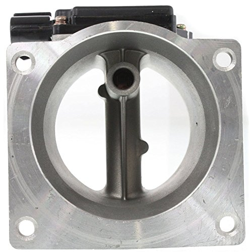 Mass Air Flow Sensor compatible with Lincoln Lincoln Town Car 91-94 / Mustang 94-95 Aluminum New W/ 4-Prong Blade Male Connector (91 92 93 94 Car)
