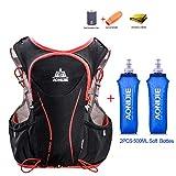 Lovtour Hydration Pack Backpack/Hydration Vest Race Vest for Marathoner Running Race Cycling Hiking Camping Biking