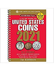 2021 Red Book 74th Edition - Spiral Edition - US Coin Values! With Stater Coin Collection Circulated