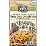 Lundberg Family Farms Organic Entrees-Whole Grain Rice and Black Beans