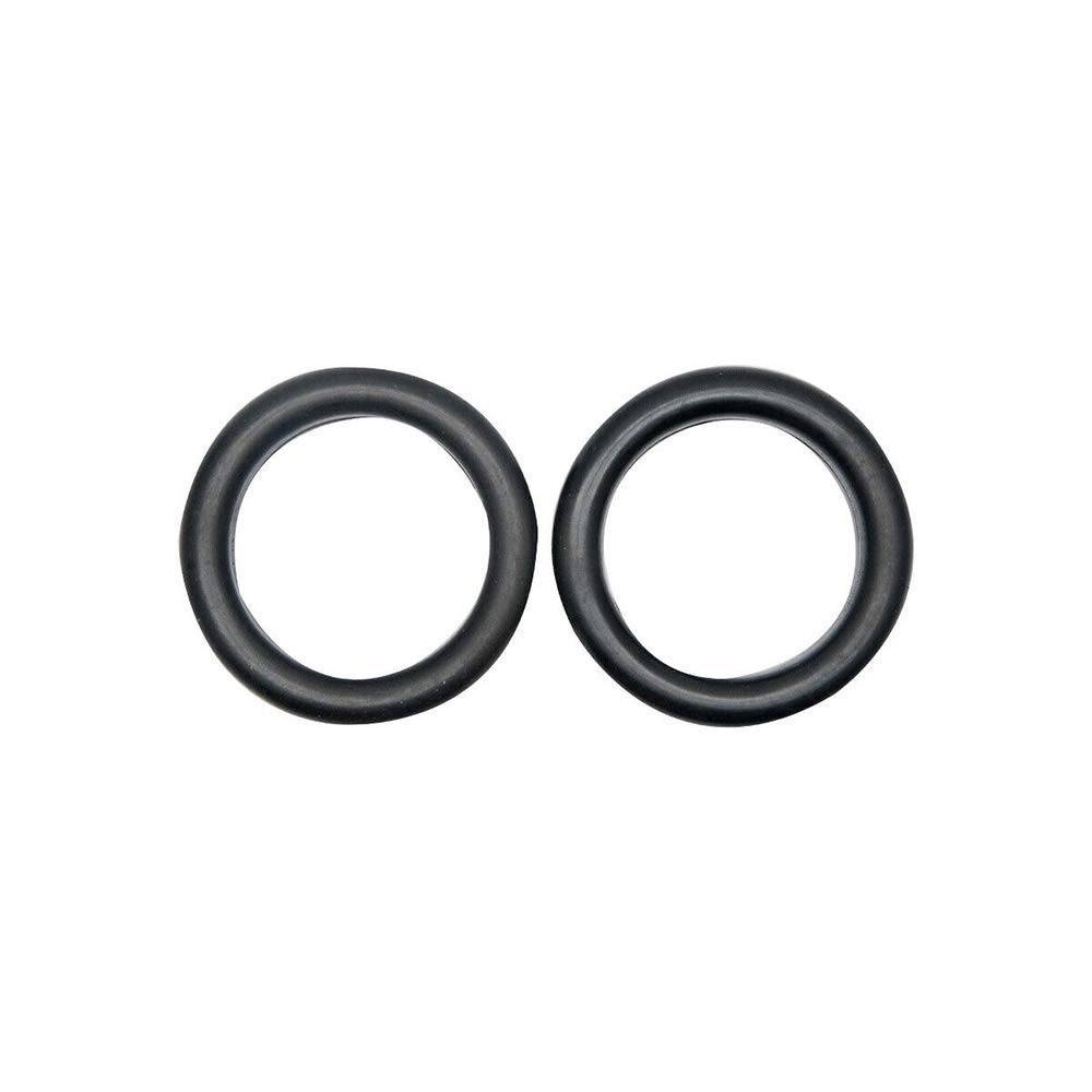 SUNWAN 2 Inch O-Ring Exhaust Mounting Rubbers Pack of 2