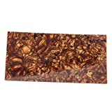 Tiger Stripes Celluloid Guitar Head Veneer Shell Sheet For Guitar & Jewelry Making Parts