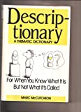 Kyпить Descriptionary: A Thematic Dictionary на Amazon.com
