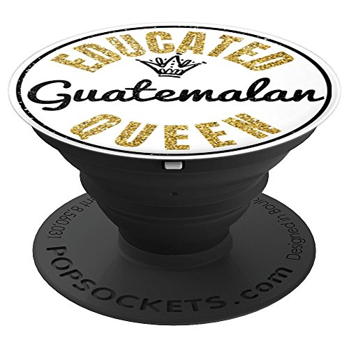 (Guatemalan Girl Guatemala Pride Smartphone Grips for Women - PopSockets Grip and Stand for Phones and Tablets)