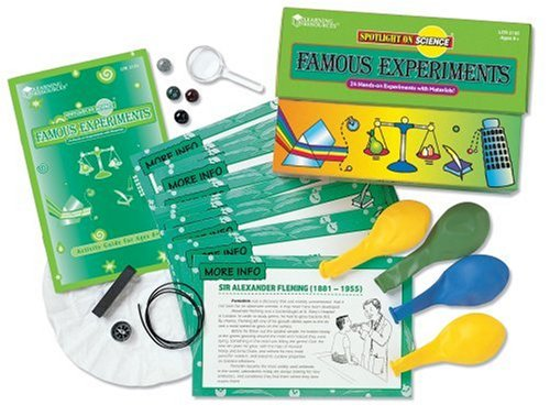 Learning Resources - Spotlight On Science Famous Experiments Kit