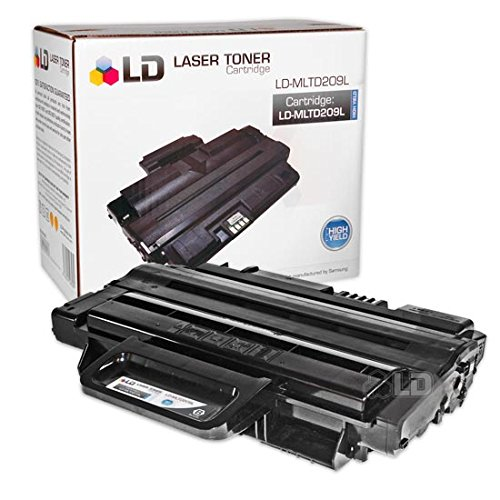 LD © Compatible Alternative Toner to Replace Samsung MLT-D209L High Yield Black Laser Toner Cartridge for ML-2855ND, SCX-4824FN, SCX-4826FN and SCX-4828FN Printers -  2.750