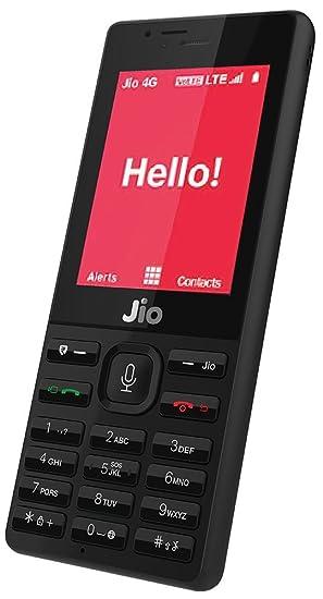 Jiophone Black Security Deposit Amazon In Electronics