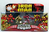Iron Man Movie Toy Super Hero Squad Battle Pack Crimson Dynamo Attacks by Hasbro
