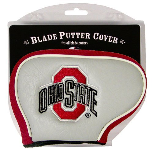 (Team Golf NCAA Ohio State Buckeyes Golf Club Blade Putter Headcover, Fits Most Blade Putters, Scotty Cameron, Taylormade, Odyssey, Titleist, Ping, Callaway)