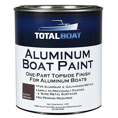 TotalBoat Aluminum Boat Paint (Earth Brown, Quart)