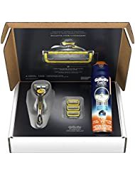 Gillette Fusion ProShield Bundle with 1 Razor Handle...