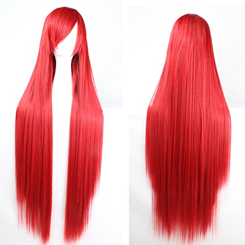 100 cm red wig - 7