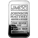 JM Silver Bar 1 oz