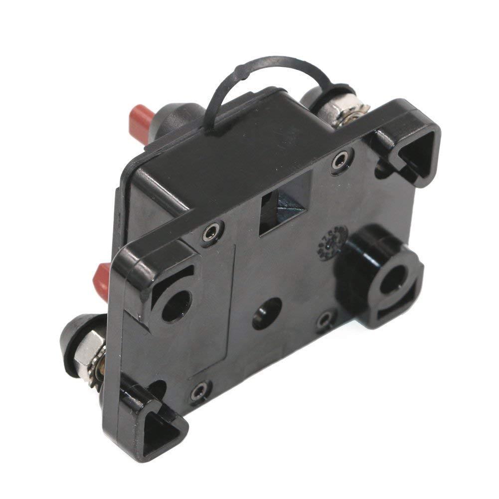 /72/V DC inverter per auto RV marine Gzlmmy impermeabile LS Surge Protector con pulsante reset manuale fusibile 12/V/