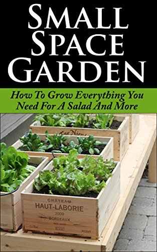 Small Space Garden: How To Grow Everything You Need For A Salad And More (Small Space Garden, Small Space Gardening, Small Space Garden Ideas, Square Foot ... Square Foot Gardening, Square Foot Gard)