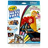 Crayola Color Wonder Glitter Pad & Markers, Princess Toy