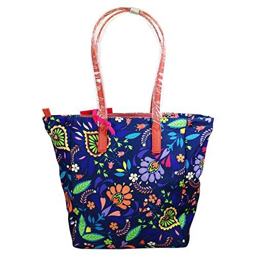 Seven Shopper Hoy Flowers Borsa a Mano da Donna Ragazza a Spalla Fashion Viaggio Multiuso