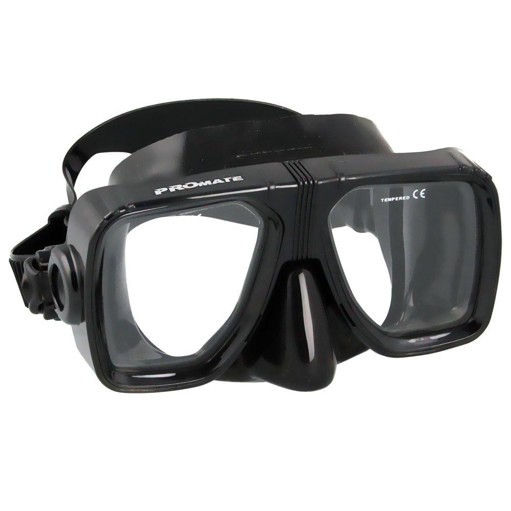 BiFocal Gauge Reading Scuba Dive Snorkeling Mask Prescription Lenses, AB, Bifocal+1.0