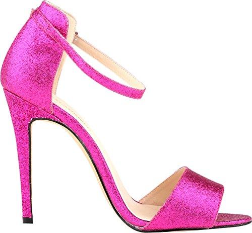 CFP , Damen Peep Toes , rosa - rose - Größe: 35