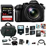 Panasonic LUMIX DMC-GH4 16MP Mirrorless Digital Camera w/14-140mm f/3.5-5.6 Lens & 64GB SD Card Bundle
