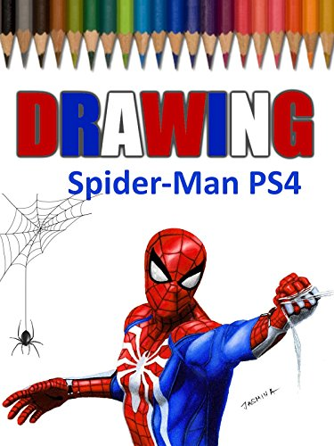 Drawing Spider-Man PS4 by