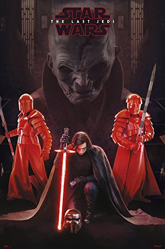 Star Wars: Episode VIII - The Last Jedi - Movie Poster/Print (Kylo Ren & Supreme Leader Snoke) (Size: 24 inches x 36 inches)