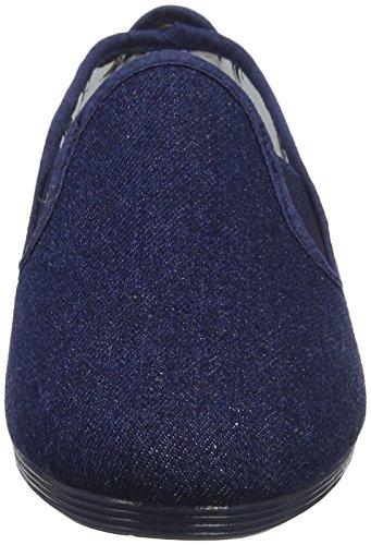 Bleu Femme denim Flossy Espadrilles Guadix 000 wHECt