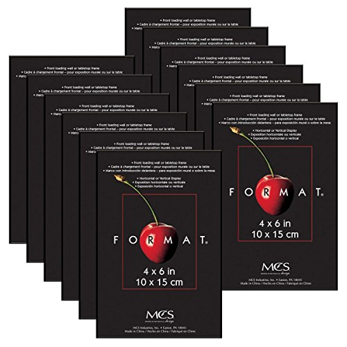 4 by 6-Inch Frames, 12-Pack