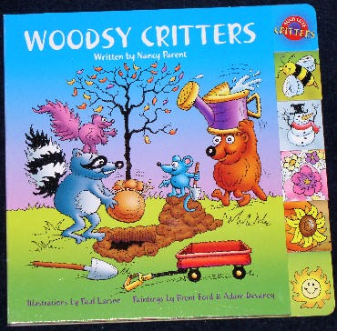Woodsy Critters (Such Cute Critters) - Nancy Parent