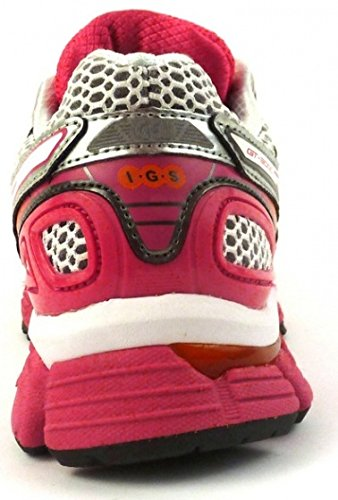 De Taille Course Chaussures 46 Asics Blanc 2 rose 3000 Gt Dames Zq7S465