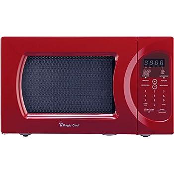 Amazon Com Rca Rmw1112 Red 1 1 Cu Ft 1000w Microwave