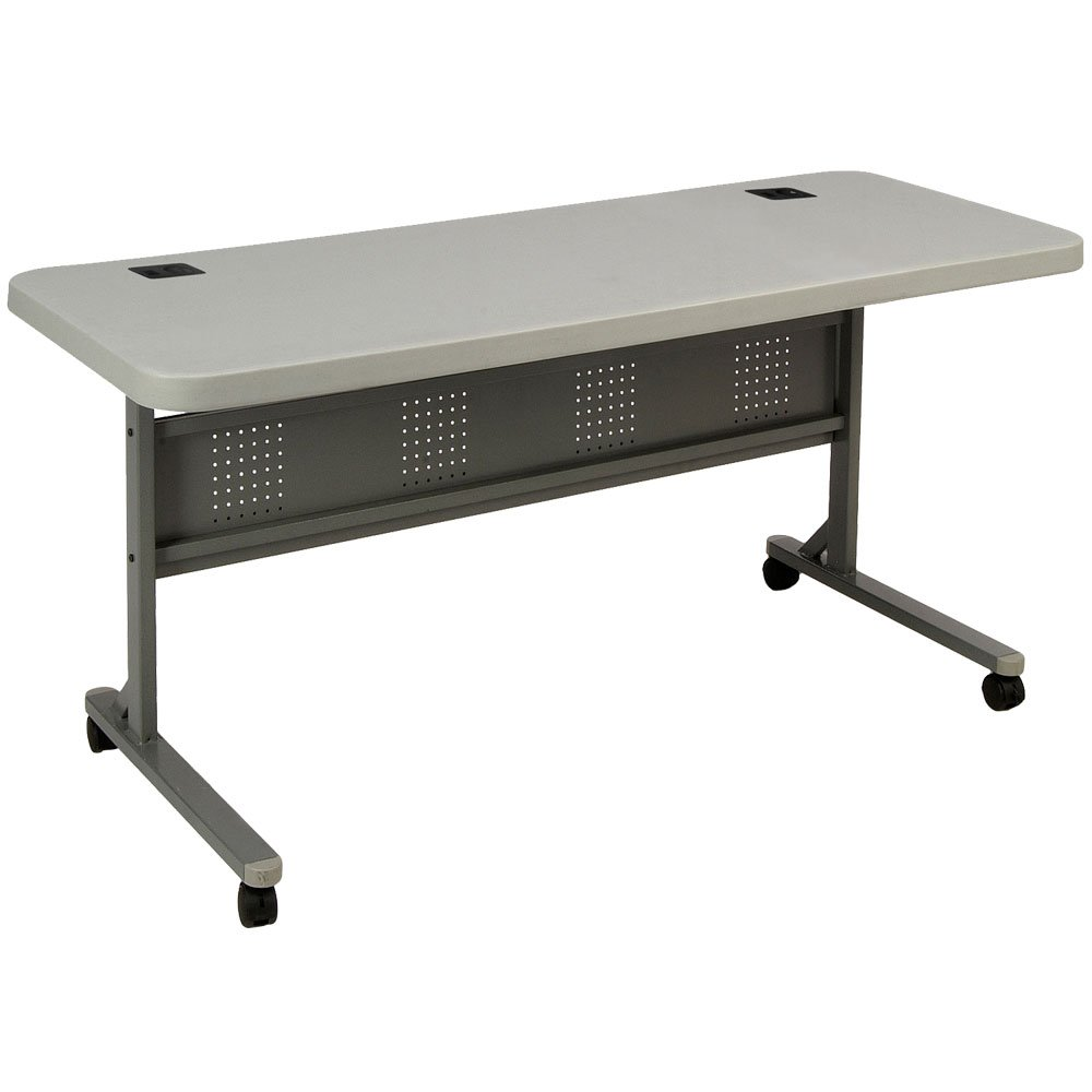National Public Seating Flip-N-Store Lightweight Table