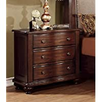 247SHOPATHOME Idf-7350N, nightstand, Cherry
