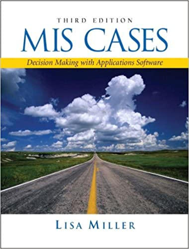 Mis cases decision making with application software 3rd edition mis cases decision making with application software 3rd edition 3rd edition fandeluxe Gallery