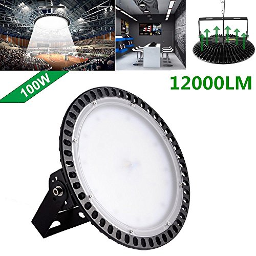 300W UFO High Bay LED Lighting,Getseason Super Bright Commercial Lights,Commercial Grade Area Ultra Thin and Efficient for Warehouse Workshop Hanging Lighting Fixtures (1) by Getseason (Image #6)