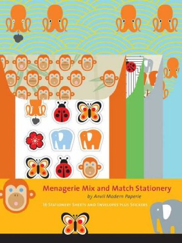 Menagerie Mix and Match Stationery