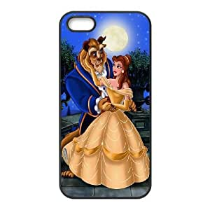 iPhone 5,5S Phone Case Black Disneys-Beauty-and-the-Beast ESTY7787175
