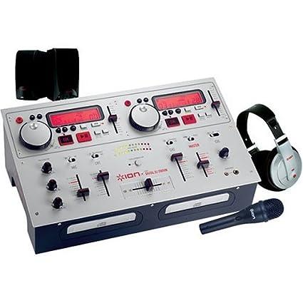 Amazon.com: Ion icd02ksp Digital DJ Estación del Paquete ...