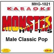 Monster Hits Karaoke #1021 - Male Classic Pop