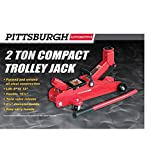 Pittsburgh 2 ton Compact Trolley Jack