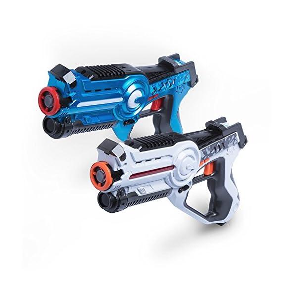 Laser Tag Gun Gaming Set – 'Space Blaster Game' Multi Player Laser Tag for Kids Toy with Deluxe 2 Pack Lazer Tag Gun Set