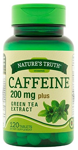 Amazon.com: Nature's Truth Caffeine Tablets Plus Green Tea Extract ...