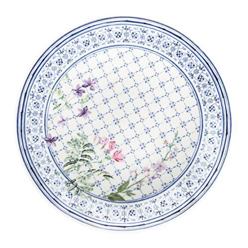ïence set of 4 Dinner Plates 10.2 Inch Diameter ()