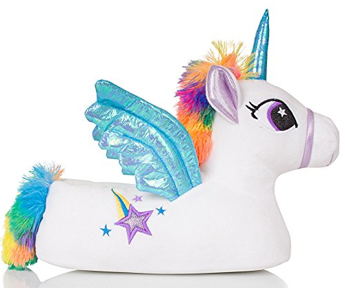 Confortable Unicorn Animal Loungeable Femmes Flying Trixie Pantoufles Fantaisie Boutique 5t8wq8v