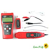 Tekit Multipurpose Network Ethernet LAN Phone Cable Tester Scanner RJ45 RJ11 Cat-5 NF-308